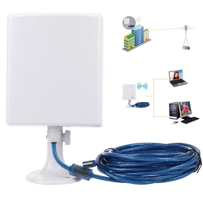 2,4G Wifi 150Mbps Fern Wifi Adapter High Power Outdoor Wireless Usb Wifi Adapter Desktop Wifi Empfänger Mit 5M Kabel - 4