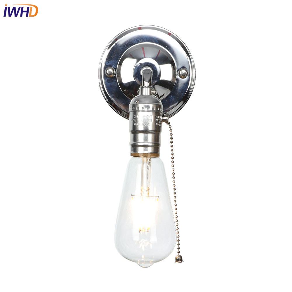 IWHD Iron Industrial LED Wall Light Loft Nordic Wandlamp Vintage Wall Lights Retro Home Lightings Applique Murale LuminaireIWHD Iron Industrial LED Wall Light Loft Nordic Wandlamp Vintage Wall Lights Retro Home Lightings Applique Murale Luminaire
