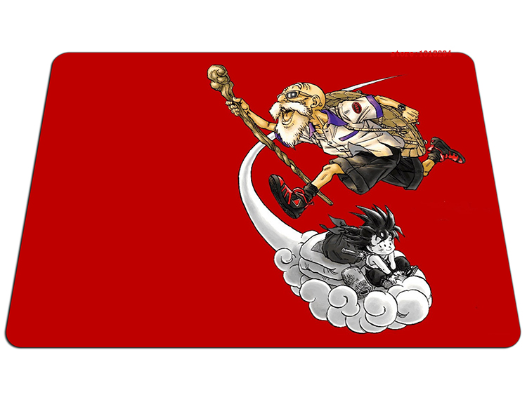 Dragon Ball mouse pad Master Roshi mousepad laptop Dragon Ball Z mouse pad gear notbook computer anime gaming mouse pad gamer