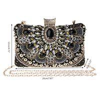 Women Stylish Rhinestone Handbag Evening Party Wedding Clutch Bag Elegant Shoulder Bag Hand Tote