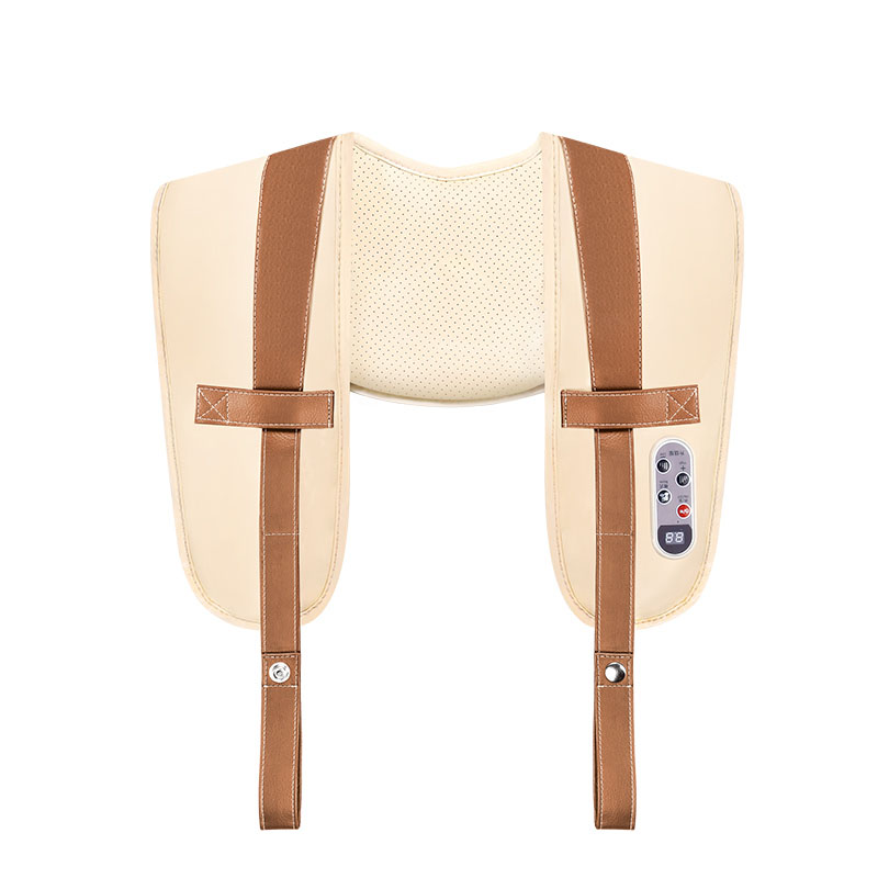 Shoulder And Neck Massager Shawl 20 Files Intelligent Beaten 6 Kinds Of Simulation Techniques Button Close-fitting Design