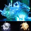 10 metro 80 LED UE 220 V tira conduzida luz da corda impermeável lâmpada led festival festa de natal de fadas colorido do feriado de Natal luz