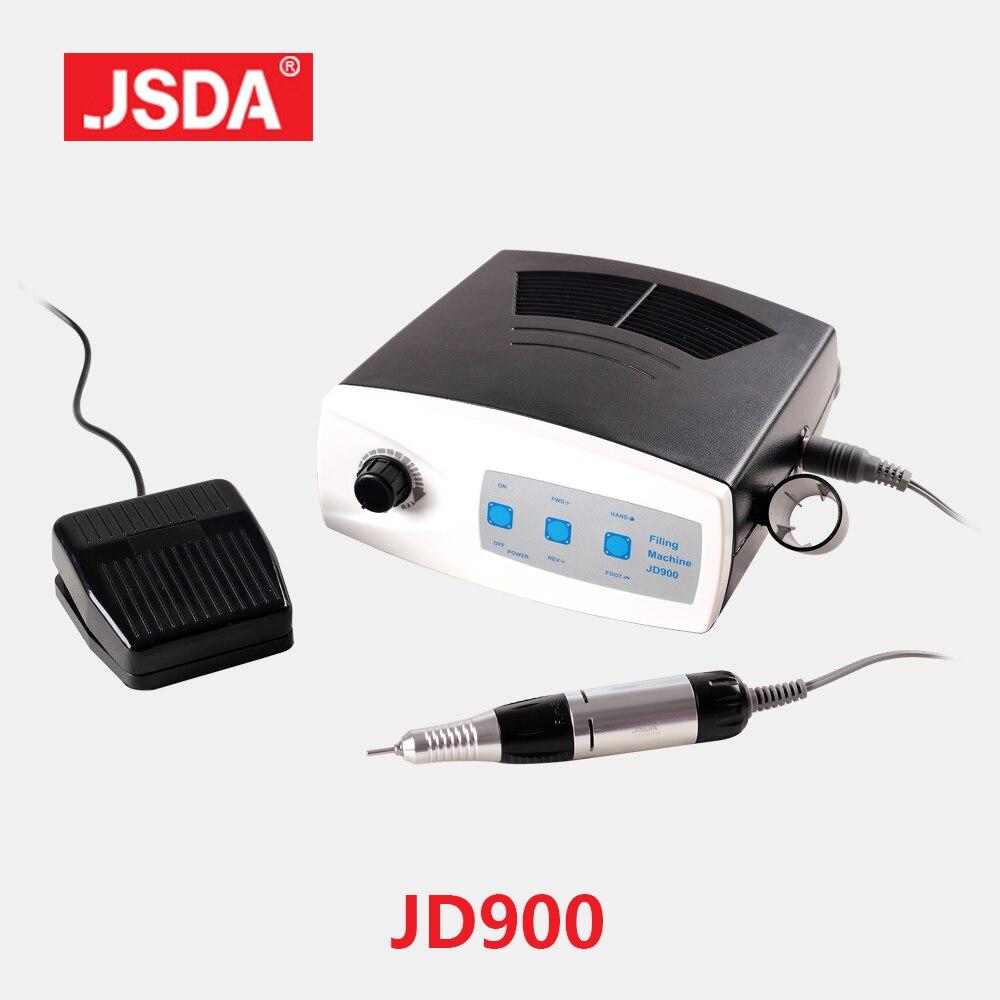 Direct Selling Jsda Jd900 professional Electric Nail drills Manicure Pedicure Bits Drill Machine Nails Art Equipment 30000rpm