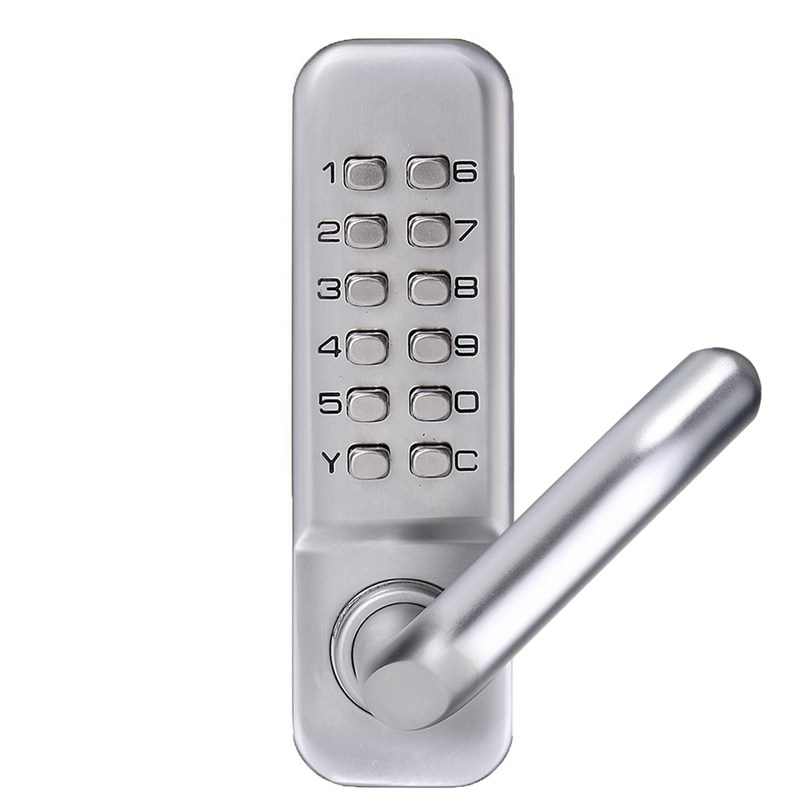 Safurance Mechanical Door Locks Keyless Digital Machinery Code Keypad Password Entry Door Lock Zinc Alloy