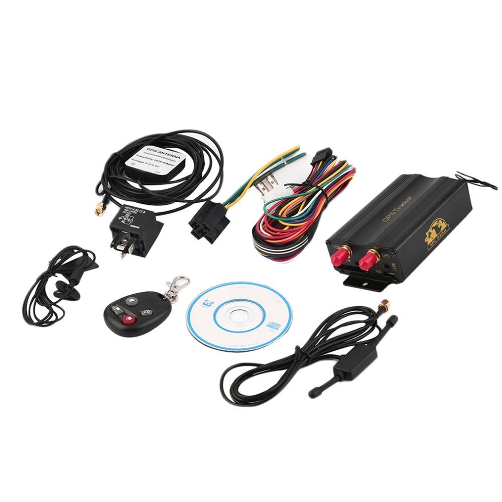 Vehicle Gps Systems : Buy tk b vehicle car gps gsm gprs tracker remote control