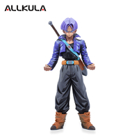 25CM Anime Dragon Ball Trunks Toys Kids Gift PVC Action Figure Collectible Model Toys