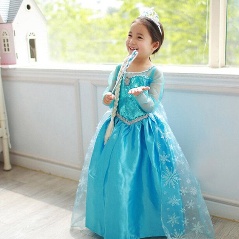 Подробнее о Fashion Girl Dresses Children Party Frock Baby Girls Party Princess Dress Cosplay Costume Kid's Costumes Girls Cosplay Dresses cosplay girl dress princess sofia dress children girls costume party dress kids tutu dresses 3 7 years old baby costumes