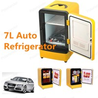 Top Sell Whole 7L 12V Mini Car Fridge Car Freezer Refrigerator Car Refrigerator