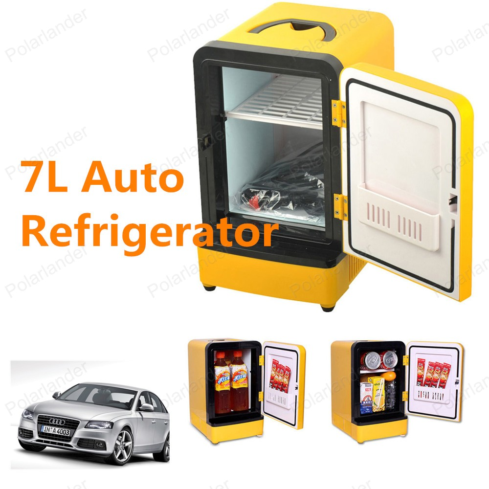 Top Sell Whole 7L 12V Mini Car Fridge Car Freezer ...