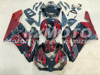 ACE KITS New ABS Injection Fairings Kit Fit For HONDA CBR1000RR 2004 2005 CBR1000RR 04 05 Black Red F76
