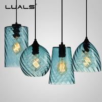 Modern Pendant Lamp Multicolor Art Suspension Luminaire Nordic Glass Pendant Light Spiral Deco Hanging Lamps Indoor LED Lighting