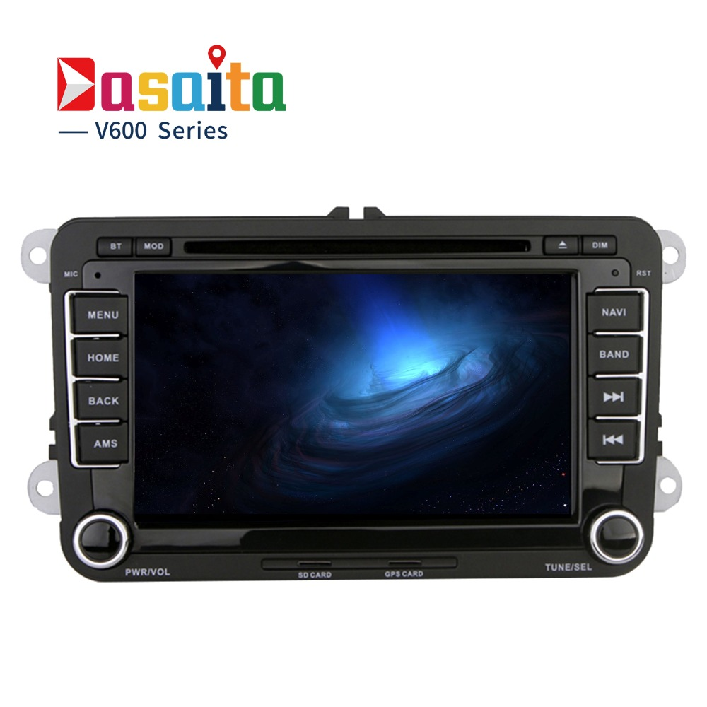 dasaita 7 android 6 0 car dvd player for vw golf polo. Black Bedroom Furniture Sets. Home Design Ideas