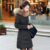 NXH desgaste amassado jaqueta feminina 2017 outono e inverno de Neve mulheres jaqueta de Algodão outerwear casaco de inverno fino casaco Longo soprador mulheres