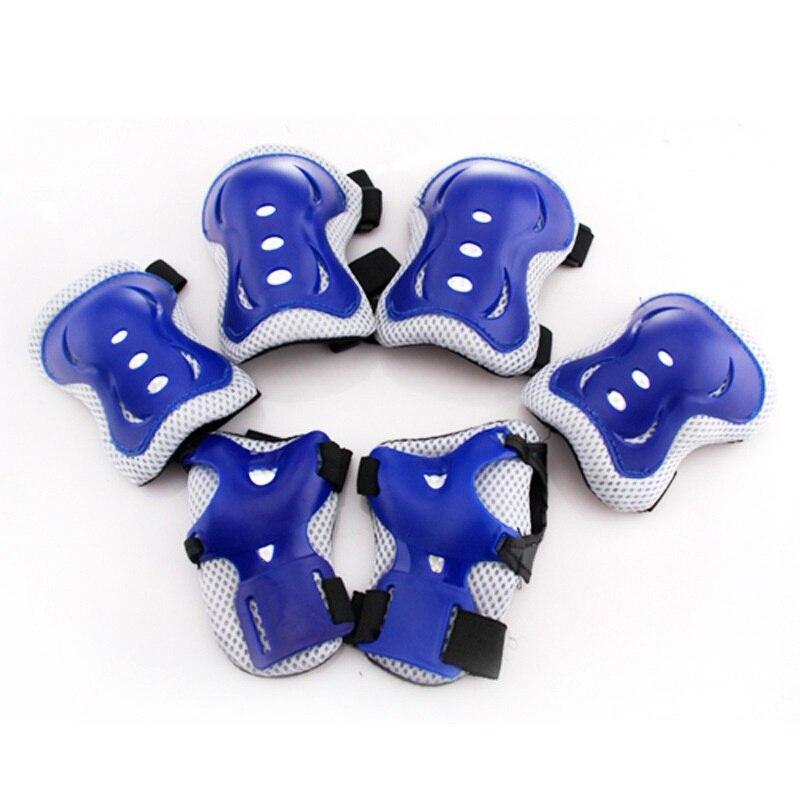 LumiParty 6 Stücke Kinder knie schutz Getriebe knie brace Pads Ellbogenschützer Handgelenkschutz Roller Skating Sicherheit Schutz