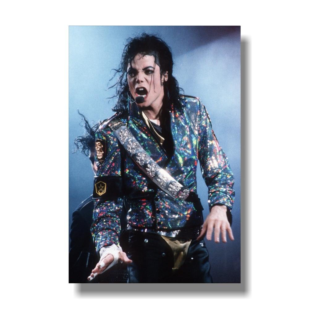 Michael Jackson Bad Art Silk Poster 12x18 24x36