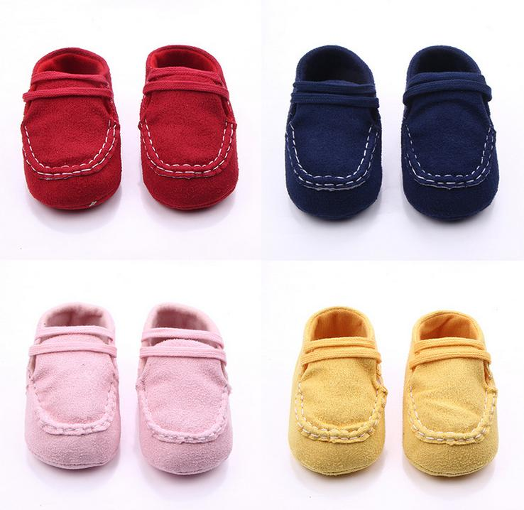 Fashion Soft Non-slip Baby Outdoor First Walkers 0-12 Months Unisex Infant Boys Girls Sh ...