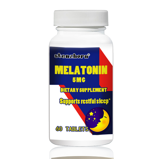 Мелатонин 5 мг 60 шт поддерживает спокойный сон