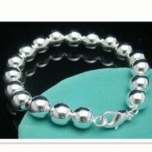 e510c6921ea5 2018 Venta caliente de moda encantos de la pulsera para las mujeres Simple de  plata de diseño 925 bonito 10mm de cuentas de acce.