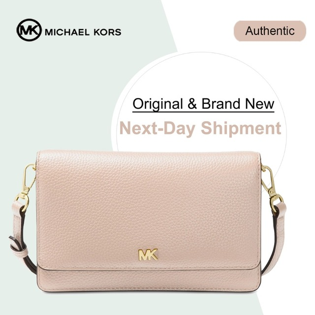 ac5d01da26cb Michael Kors Pebble Leather Phone Crossbody Wallet Luxury Handbags For  Women Bags Designer by MK