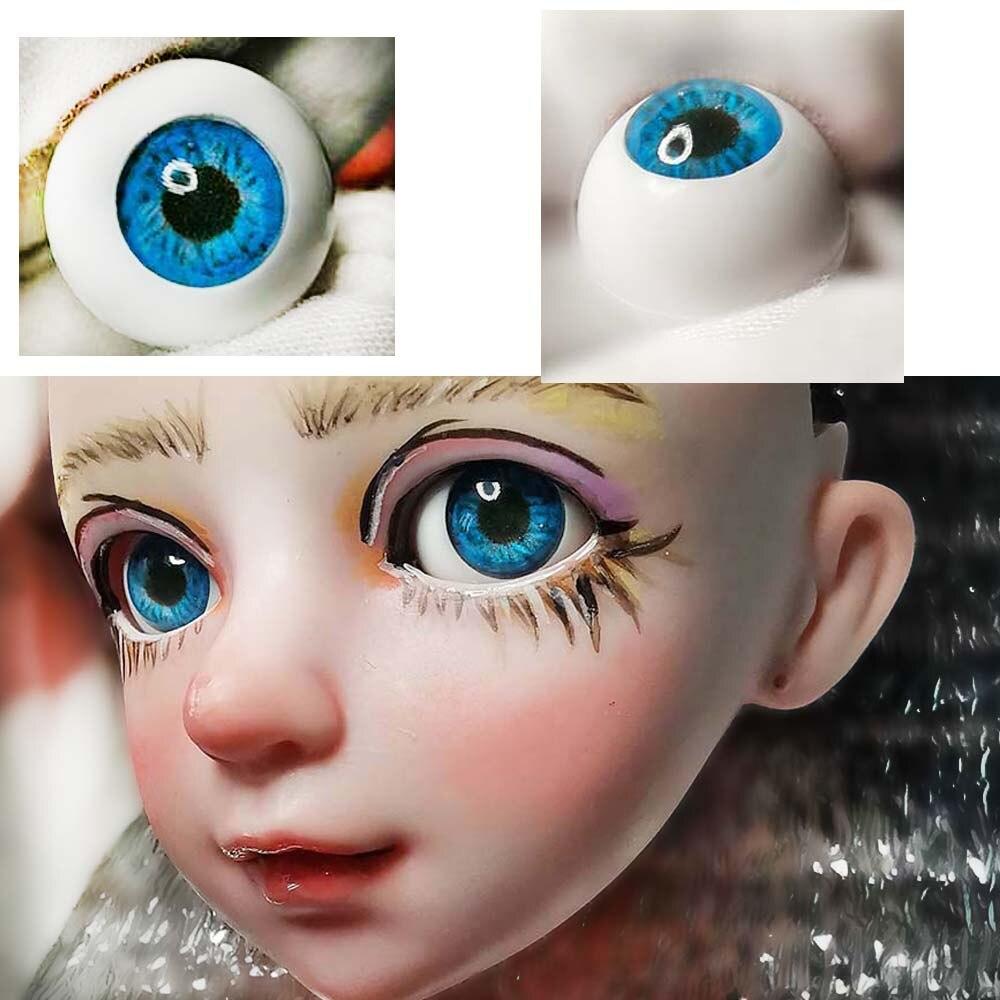 как сделать глаза куклы редактор фото крышечку