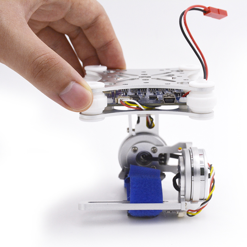 FPV Airplane Gopro3 Lightweight 2-AXIS Brushless Gimbal Board with Sensor Free Debug for RC drones gopro3 lightweight 2 axis brushless gimbal board with sensor free debug for fpv airplane rc quadcopter frame racing drones