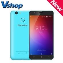 Оригинал Blackview E7 E7S мобильный телефон Android 6.0 Quad Core 1.3 ГГц RAM 1 ГБ / 2 ГБ ROM 16 ГБ 720 P 8MP Камера Dual SIM 5.5 дюймов смартфон