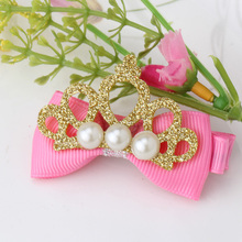 Cute Glitter Pearl Hair Clip