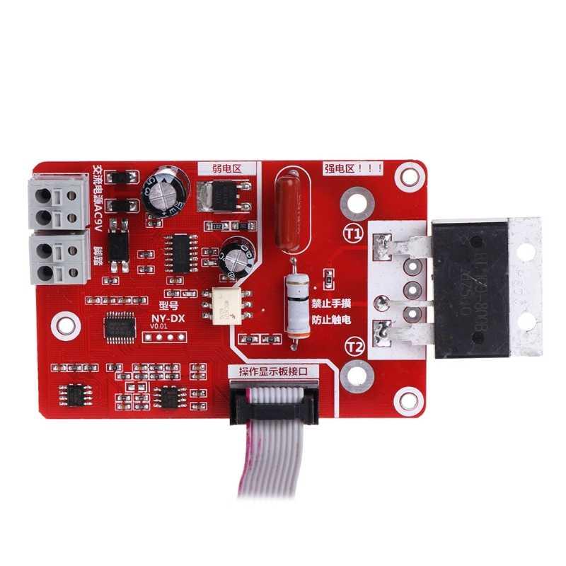 100A/40A Doppio Impulso Encoder Spot Saldatore Saldatrice Tempo Corrente Control-M35
