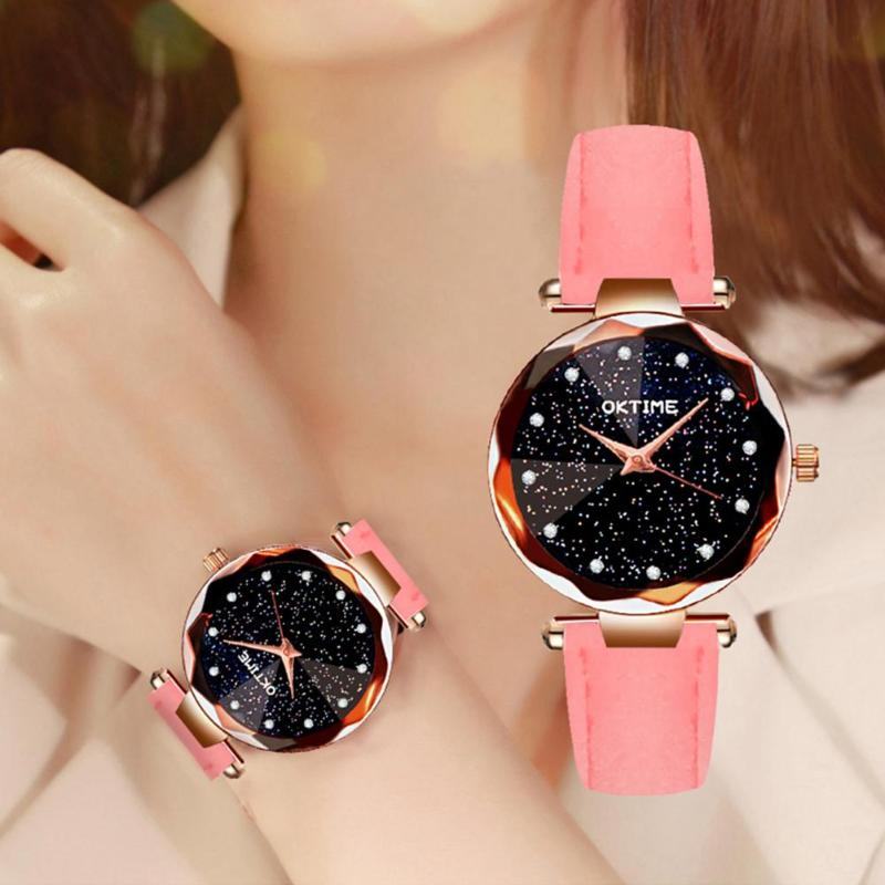 Luxury Women Watches Ladies Magnetic Starry Sky Clock Fashion Diamond Female Quartz Wristwatches Relogio Feminino