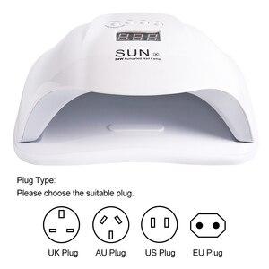 Image 5 - 54W Móng Tay Đèn Máy Sấy Móng Tay UV Gel Ba Lan Sấy Đèn Dầu Bóng Chữa 36 Đèn LED Cảm Biến Hồng Ngoại Thông Minh Thời Gian dụng Cụ Làm Móng Tay Lasunx
