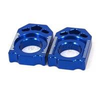 Motorcycle CNC Rear Chain Adjuster Axle Block For YAMAHA YZ125 YZ250 YZ250F YZ450F YZ250X YZ250FX WR250F