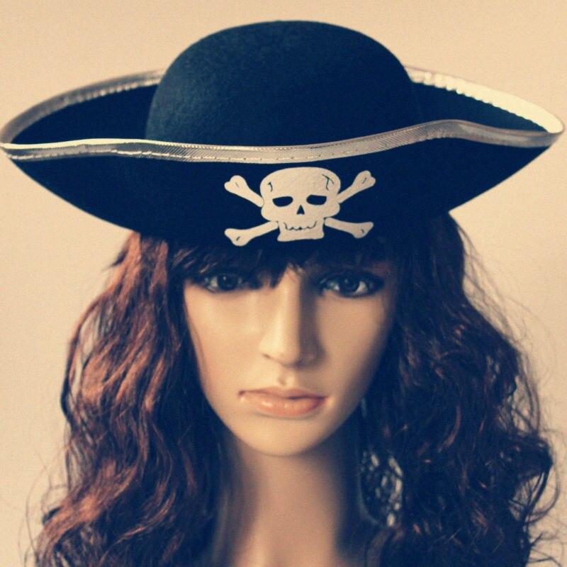 3pcs / lot Halloween party pribor Pirati s Kariba kapa kapetan - Za blagdane i zabave - Foto 2
