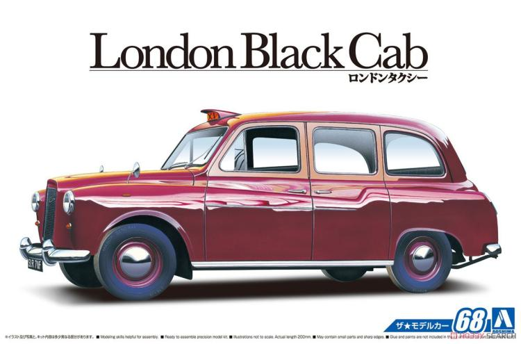 1/24 Assembly Model London Black Cab London Taxi 68 05487