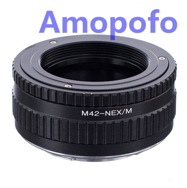 Amopofo M42-NEX / M Adapter M42 Vint Dəstək Lensini SonyE Adapterə - Kamera və foto - Fotoqrafiya 1