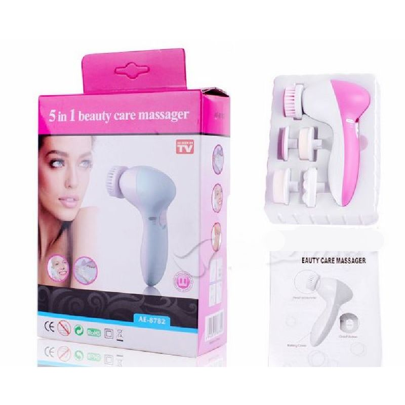 5 In1 Multifunction Electric Face Facial Cleansing Brush