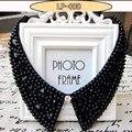 2017 accesorios de la joyería nuevo collar rhinestone joyería de moda collar de perlas falsas collar choker vintage joyas de cristal de estilo