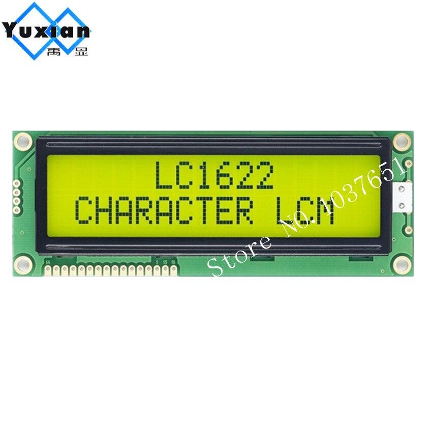 1602 16x2 1602G grand grand caractère lcd affichage vert 5 v LC1622 haute qualité HD44780 WH1602L1 PC1602-L LMB162GBY AC162E 1 pcs