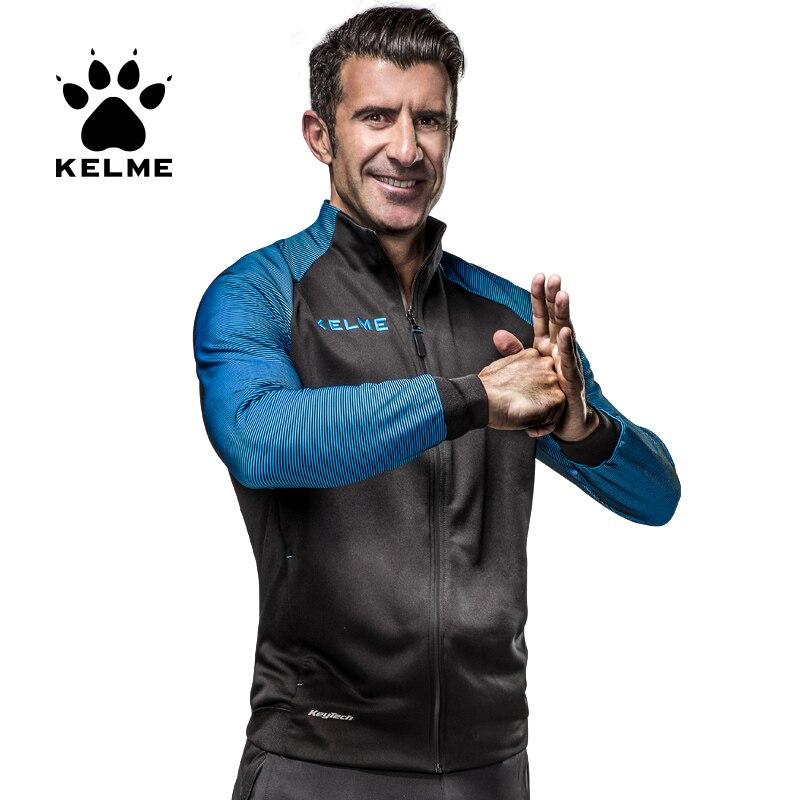 KELME New Arrival Men s Running Jacket Windbreaker Basketball Soccer Training Sport Jersey Clothings 3871300