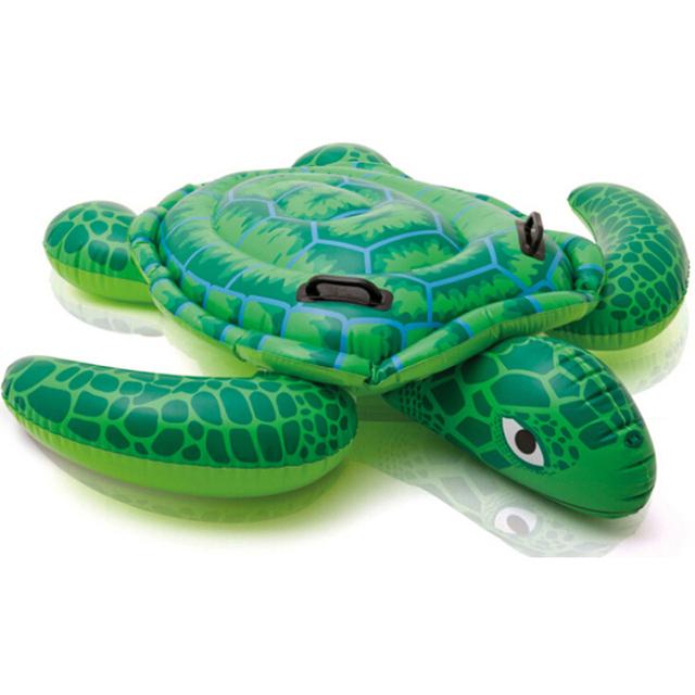 150*127 cm Tartaruga Do Mar Inflável Linha Flutuante Água Crianças Natação Banho de Piscina Ride-On Anel da Nadada Do Bebê brinquedo TD0066
