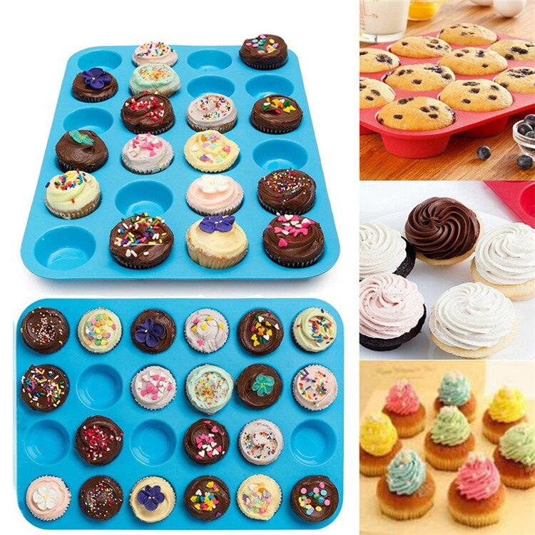 Silicone 5 Pce Cookies Cupcake Baking Set