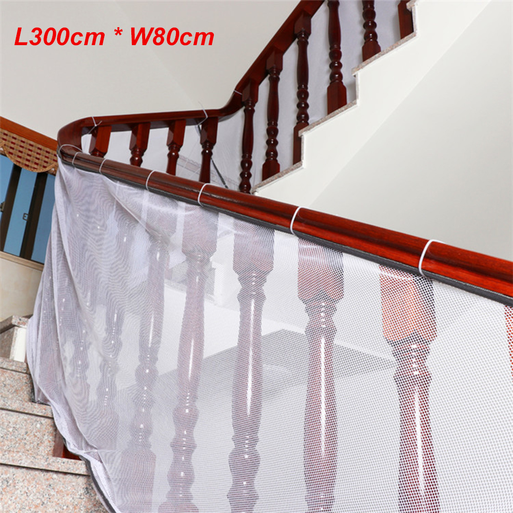 Attirant 3m Baby Fence Child Safety Netting Children Balcony Stair Gate Baby  Thickening Protector Home Toddler Product In Garden Netting From Home U0026  Garden On ...