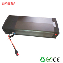 Free shipping  rear rack ebike battery pack 36V 20Ah 25Ah 28Ah 30Ah 35Ah 250W 500W carrier with chargers