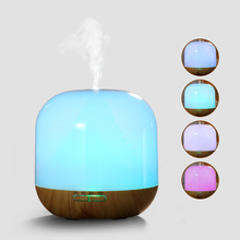 Hot Sale LED Light 7 Color Change Ultrasonic Aromatherapy Essential Oil Aroma Diffuser Air Humidifier Mist Maker For Home Use