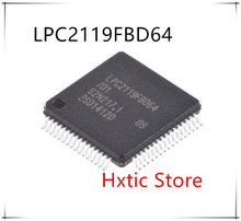 10pcs/lot LPC2119FBD64 LPC2119FBD64/01 LPC2119FBD LPC2119 QFP64 new original stock