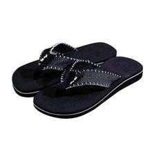Hot Selling Men Summer Stripe Flip Flops Shoes Sandals Male Slipper Flip-flops EVA Mixed Colors Shoes 2017 fashion design