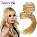 Микро ссылка наращивание волос человеческих волос петли естественно ломбер бразильский микро-цикла волос # 27/613