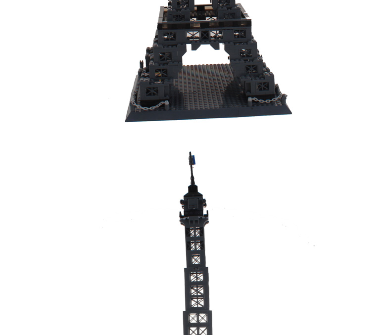 Models Building Toy 8015 Famous Architecture Series The Eiffel Tower