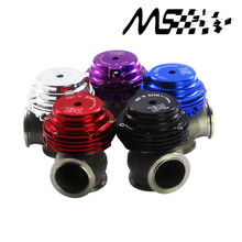 Blue MVS 38mm Wastegate Aluminum Top Steel V-band External Waste Gate For Supercharge Turbo Manifold 14PSI WITH LOGO цены онлайн