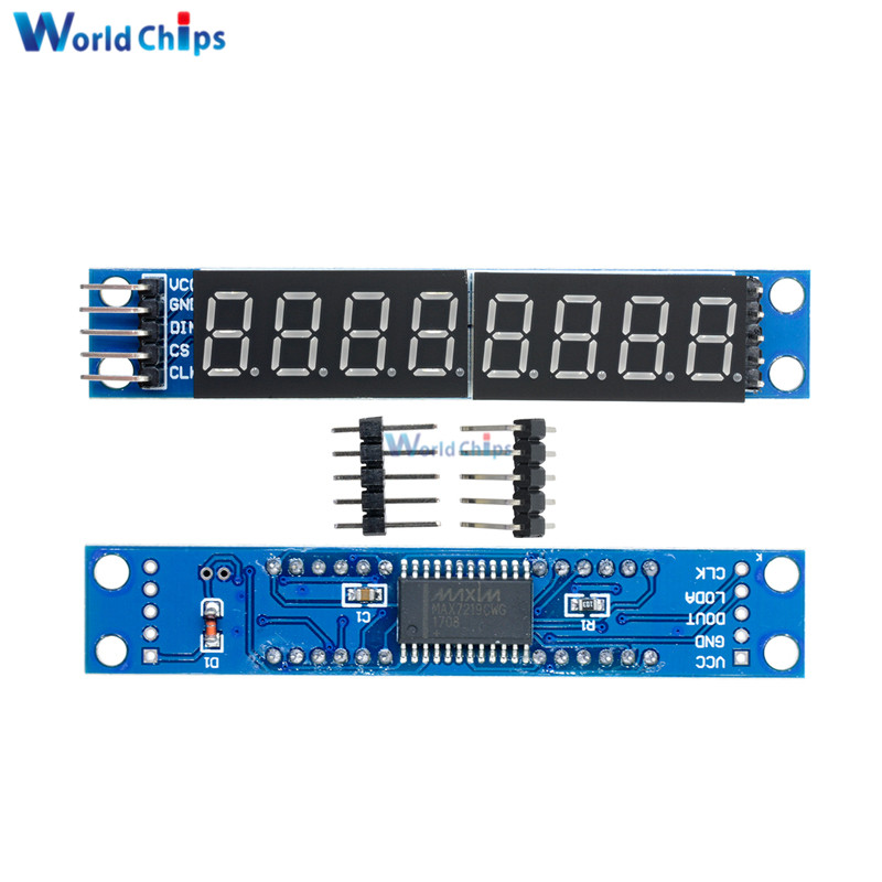 Tools Max7219 For Arduino Tm1638 Led Module 8 Digit 8 Push Button Switch 8 Bit Digital Led Tube Can Be Cascaded Replace Ch452 Measurement & Analysis Instruments