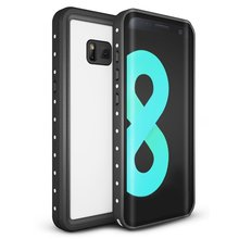 For Samsung Galaxy S8 IP68 Waterproof case Shock Dirt Snow Proof Protection With Touch ID Mobile phone Case Cover White for galaxy s8 plus case shock dirt snow proof protection for samsung galaxy s8 with touch id cover